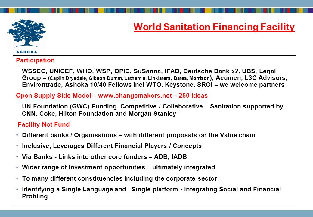 World Sanitation Financing Facility