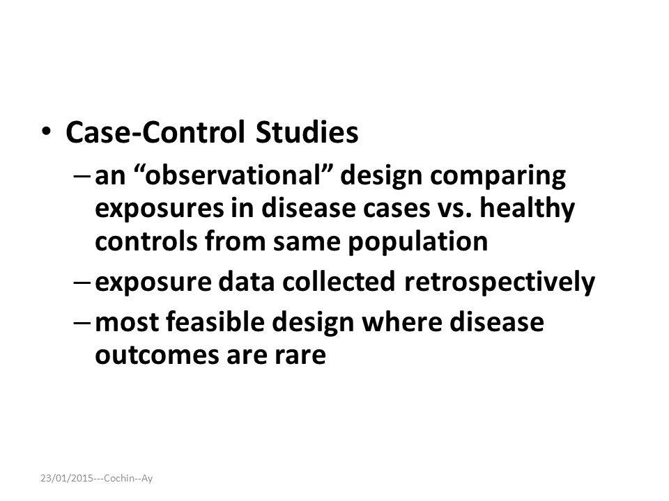 Reducing selection bias in case-control studies from rare ...