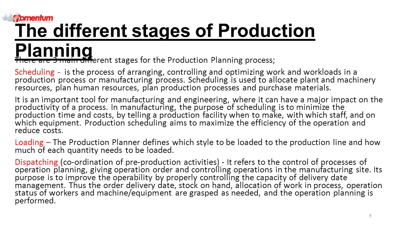 Production plan for hand papermaking