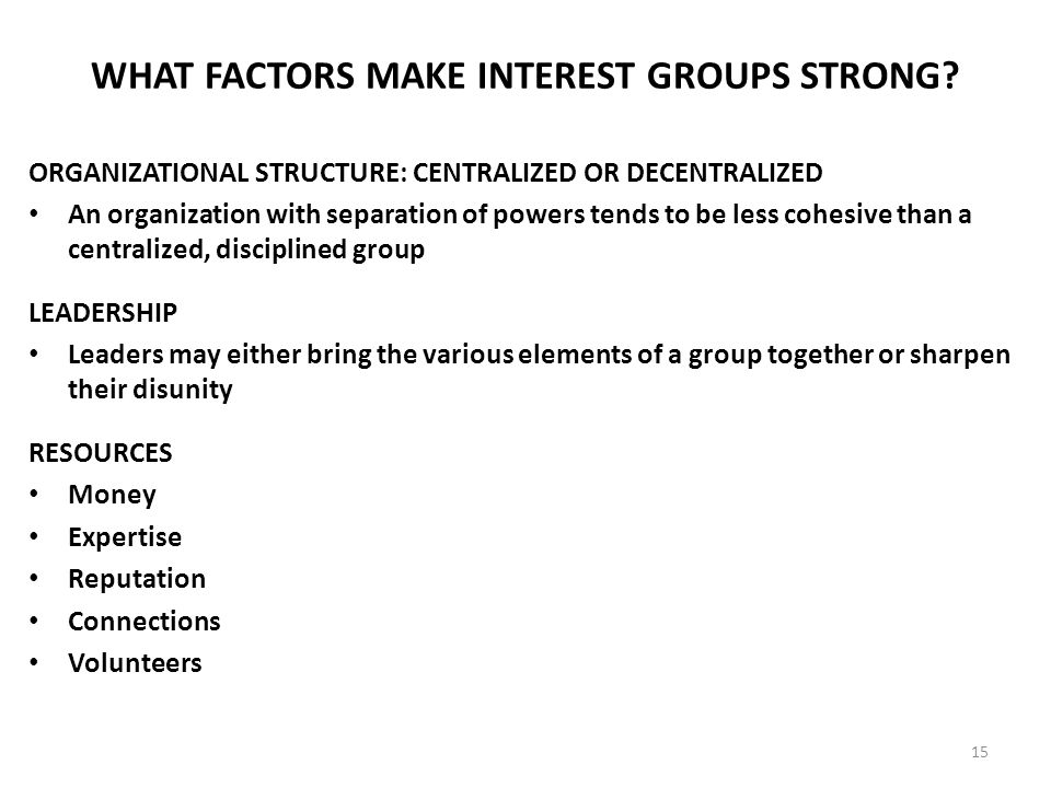 Linkage Institutions: Interest Groups, Political Parties, and Mass ...