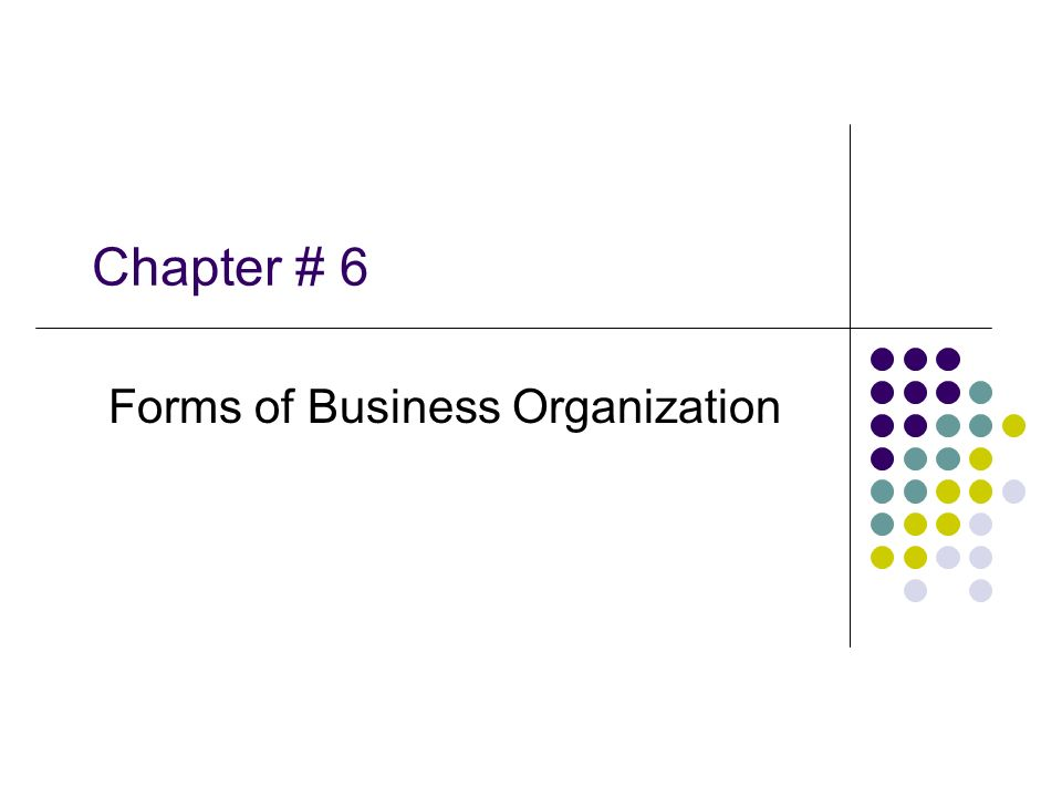 forms of business organization Definition: in broad sense business includes industry commerce & trade its main aim is to increase wealth.