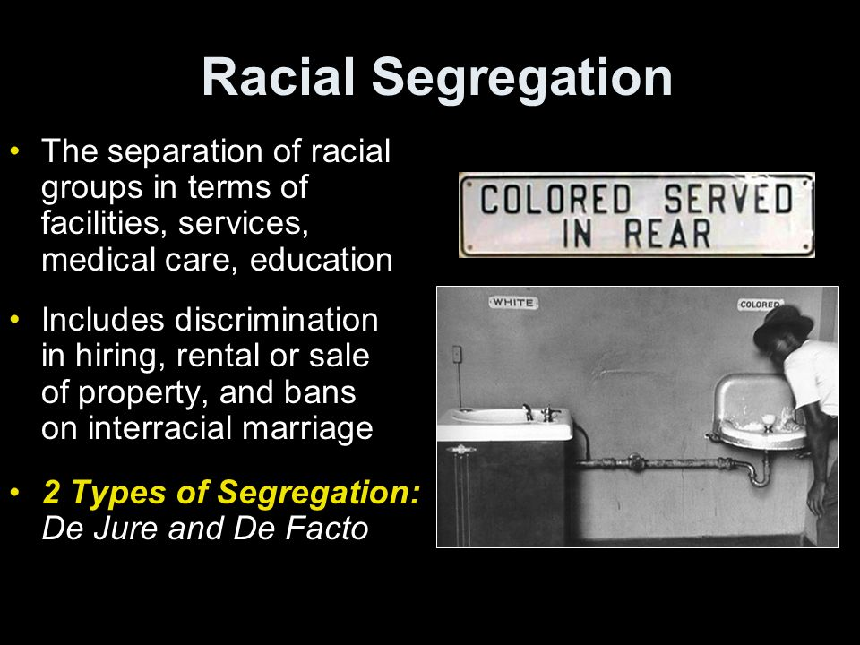 racial separatism It is possible to advocate for racial separation by arguing that racial separatism would be beneficial for all groups,.