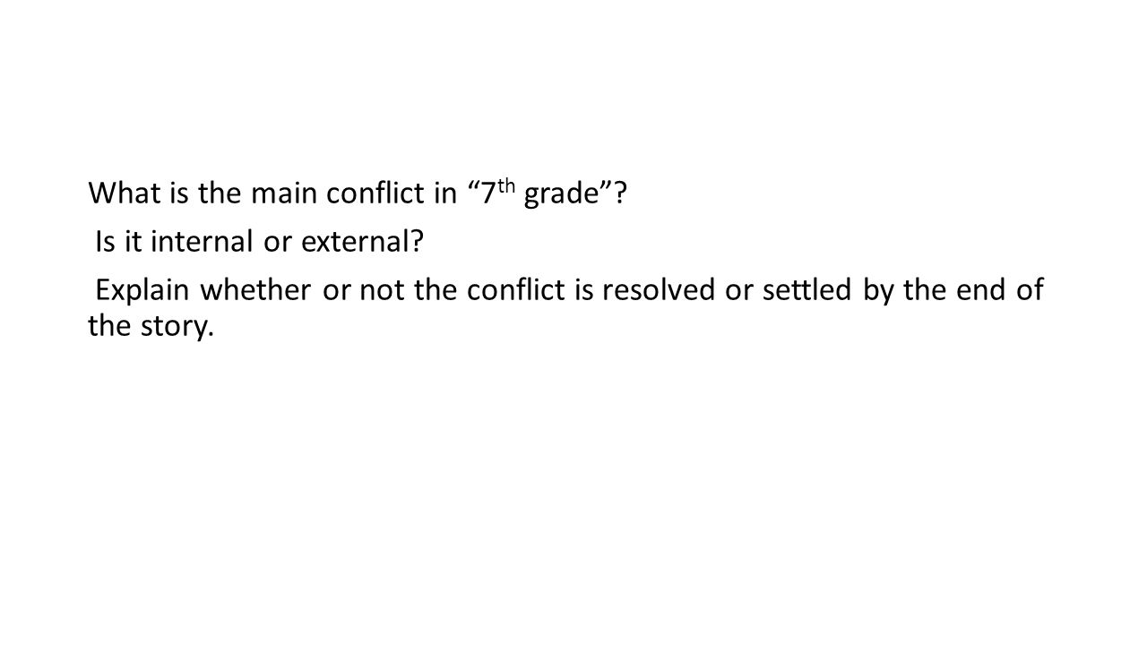 worksheet: Internal External Conflict Worksheets 7 Climax Middle ...