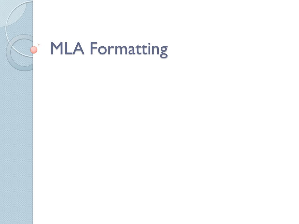 In Text Citation MLA: Website and Other Online Sources