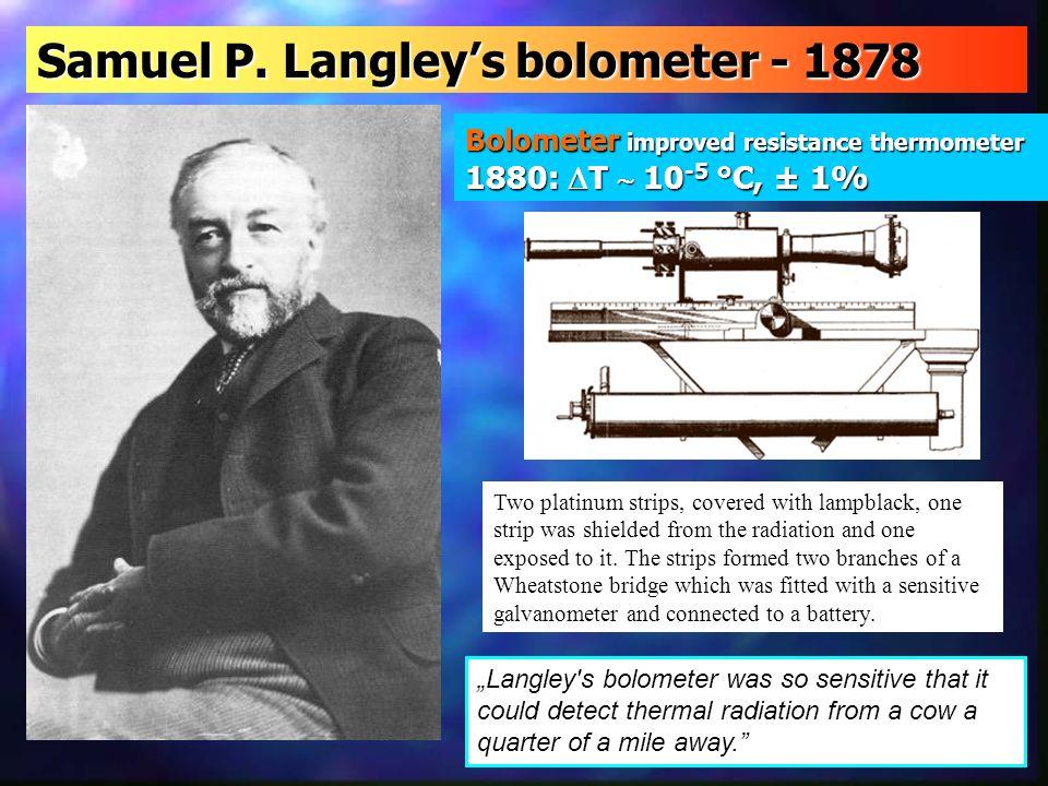 Samuel P. Langley's bolometer - 1878