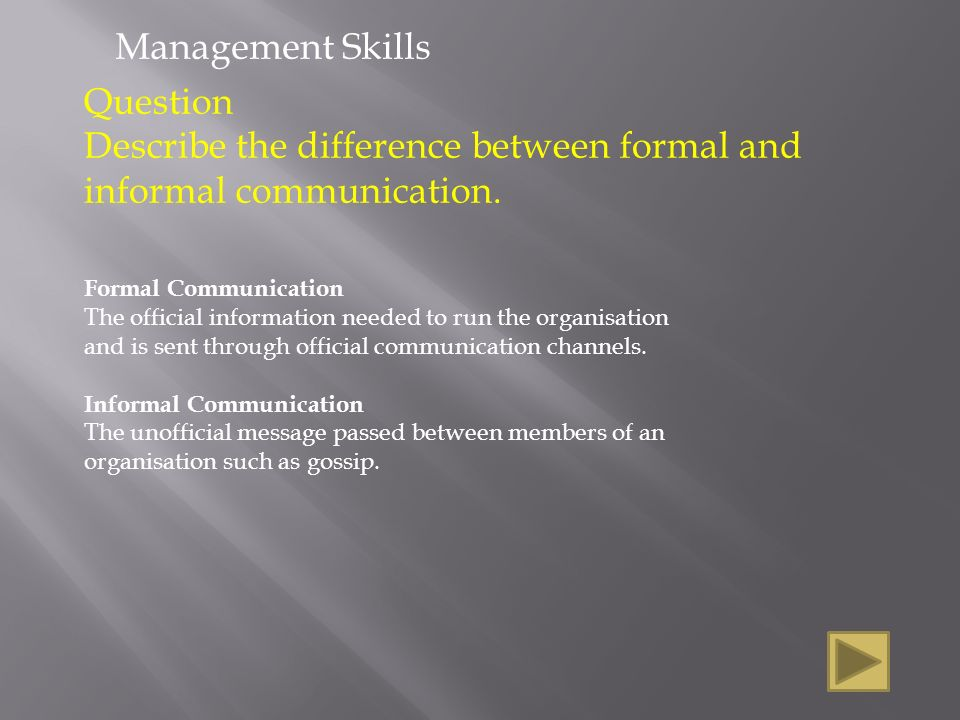 """is the difference between formal informal and quasi formal communication channels Stronger alignment between formal and informal structures decreases  performance  vertical or horizontal channels of communication"""" has many  formal elements to it  of informal interactions, which will, by their different  natures generate different types of value or effects on  organization """"quasi- symmetric"""" for any tij."""