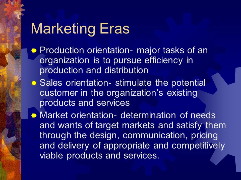major tasks of marketing management An effective management planning process includes evaluating long-term corporate objectives  prioritize goals and tasks  • financial planning • marketing plan.
