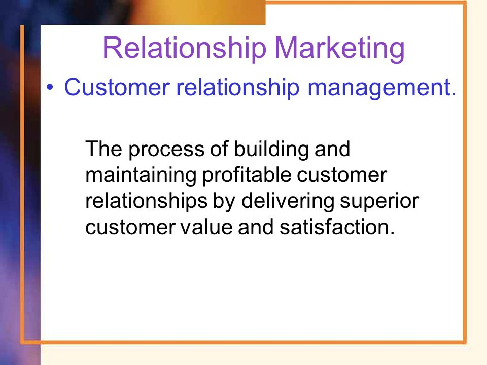 relationship building blocks customer value and satisfaction in marketing
