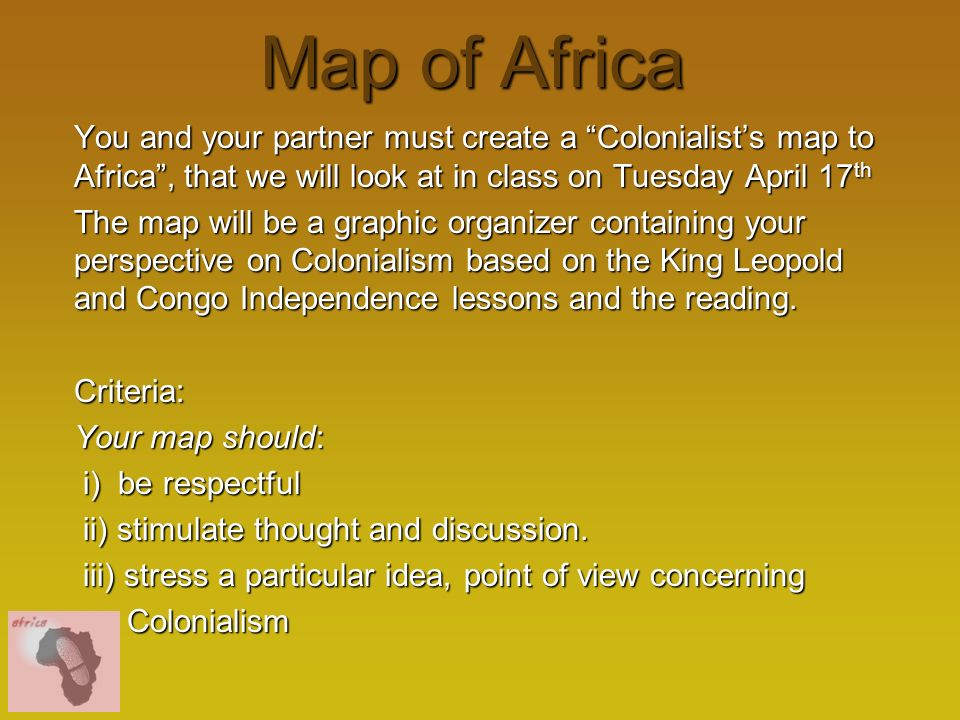 Democratic Republic Of The Congo Ppt Download - What does this map tells us about african independence