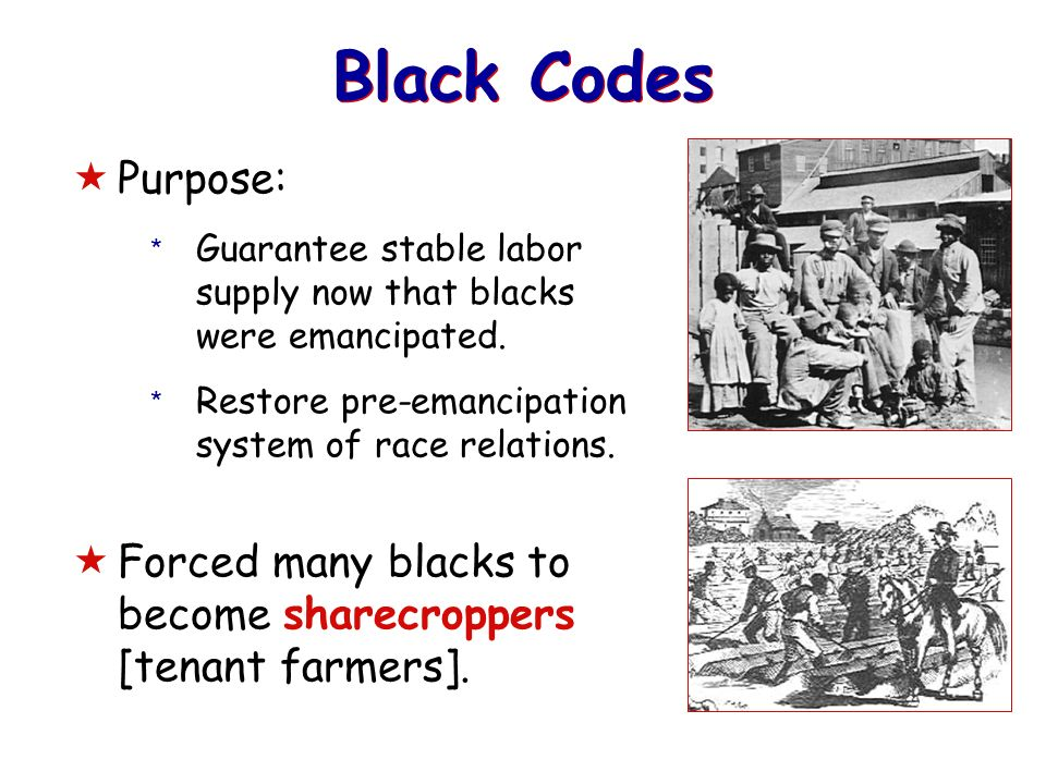 an introduction to the reconstruction and sharecropping Reconstruction backwards planning curriculum units michael hutchison, writer dr aaron willis, project coordinator justin coffey, associate editor  introduction.