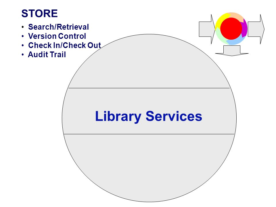 Library Services STORE Search/Retrieval Version Control