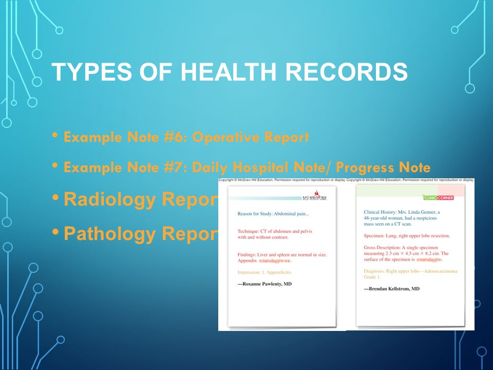 introduction to health records