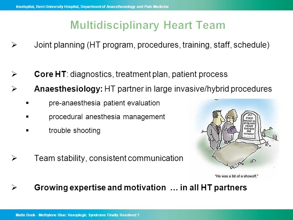 Multidisciplinary Heart Team