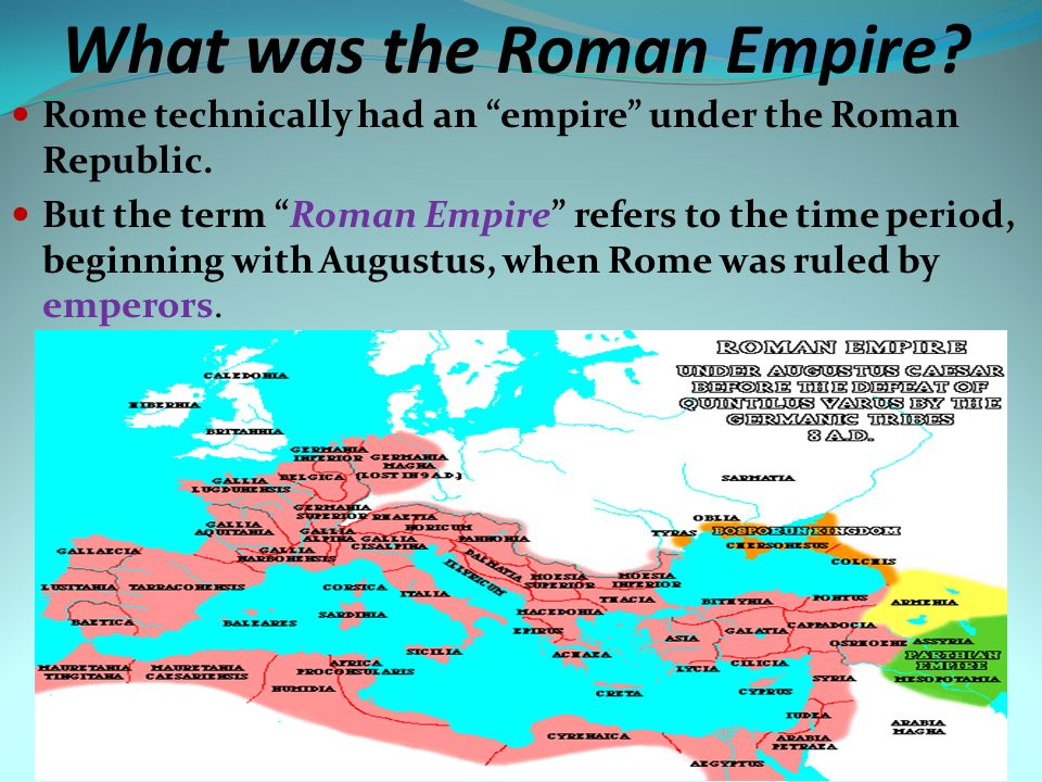 the dominance of the roman empire was unrivalled at their time Caesar augustus is the earliest figure of the roman empire that the new testament makes reference to, as he was the emperor during the time of jesus' birth (luke 2).