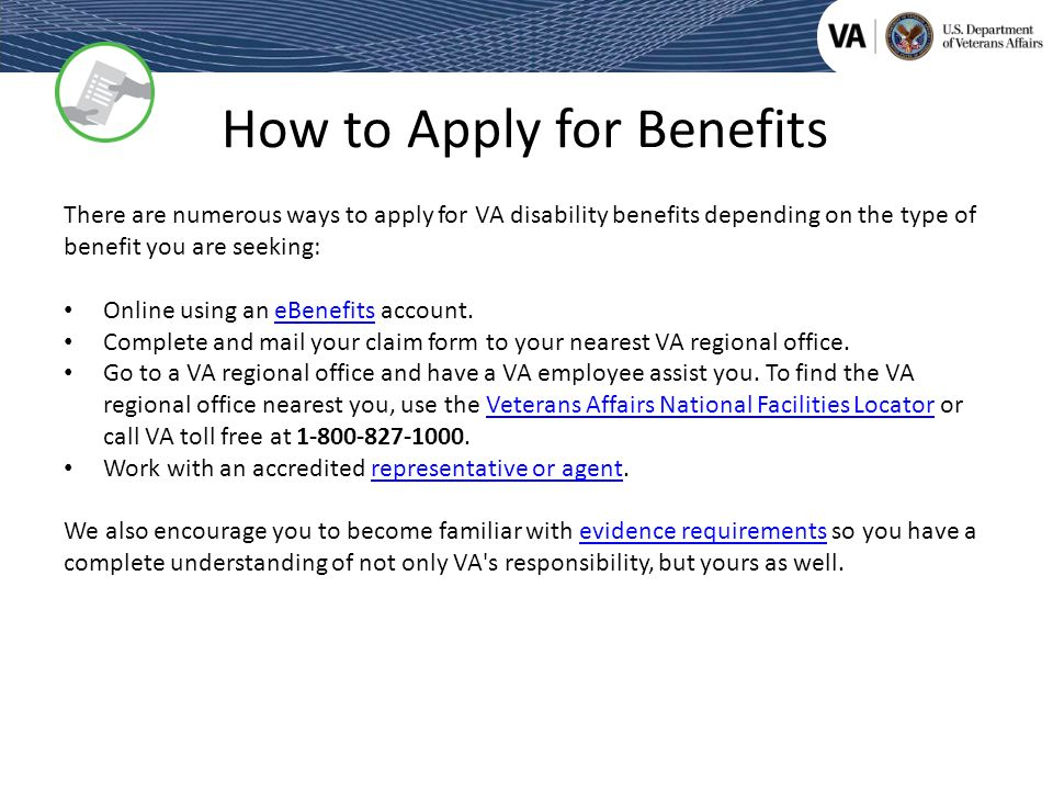 Veterans Benefits Administration - ppt download