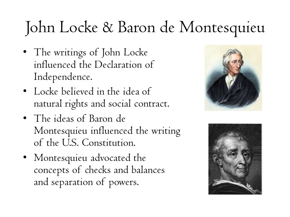 john locke - seperation of powers essay This is not an example of the work written by our professional essay writers   the doctrine of separation of powers was first mentioned by aristotle in politics   later in 1690, john locke wrote that if the power to make and execute laws was .