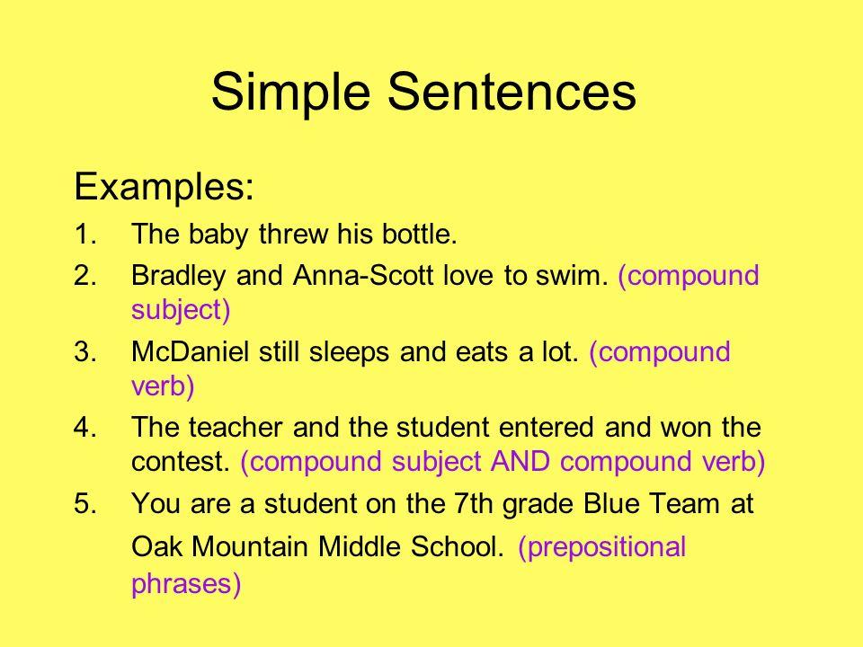 how to write complex sentences
