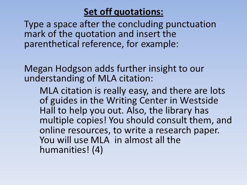 Mla Workshop Gibaldi, Joseph. Mla Handbook For Writers - Ppt Download