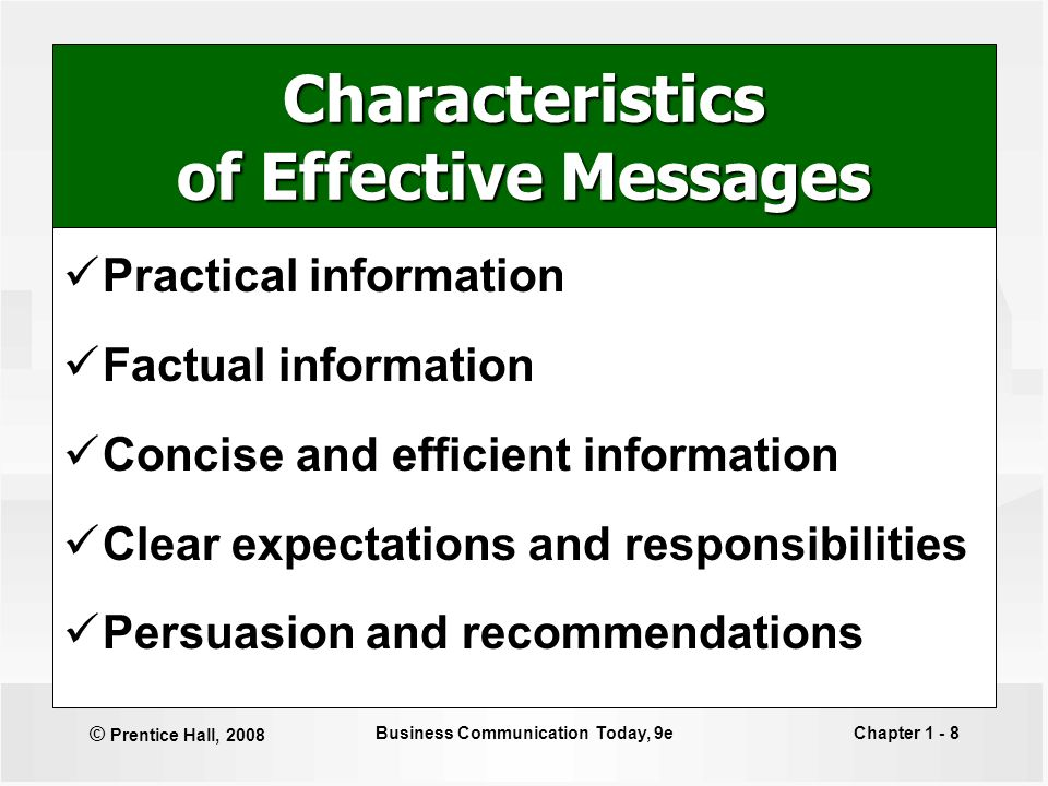 characteristic of business communication 10 characteristics of business communication by michele quinn, ehow contributor updated: april 15, 2010 a time and place for business ther.