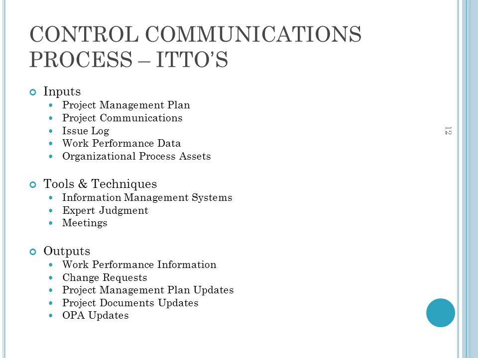 communications process Who is involved in the communication process — the identified  project communication handbook project communication handbook  project communication handbook.