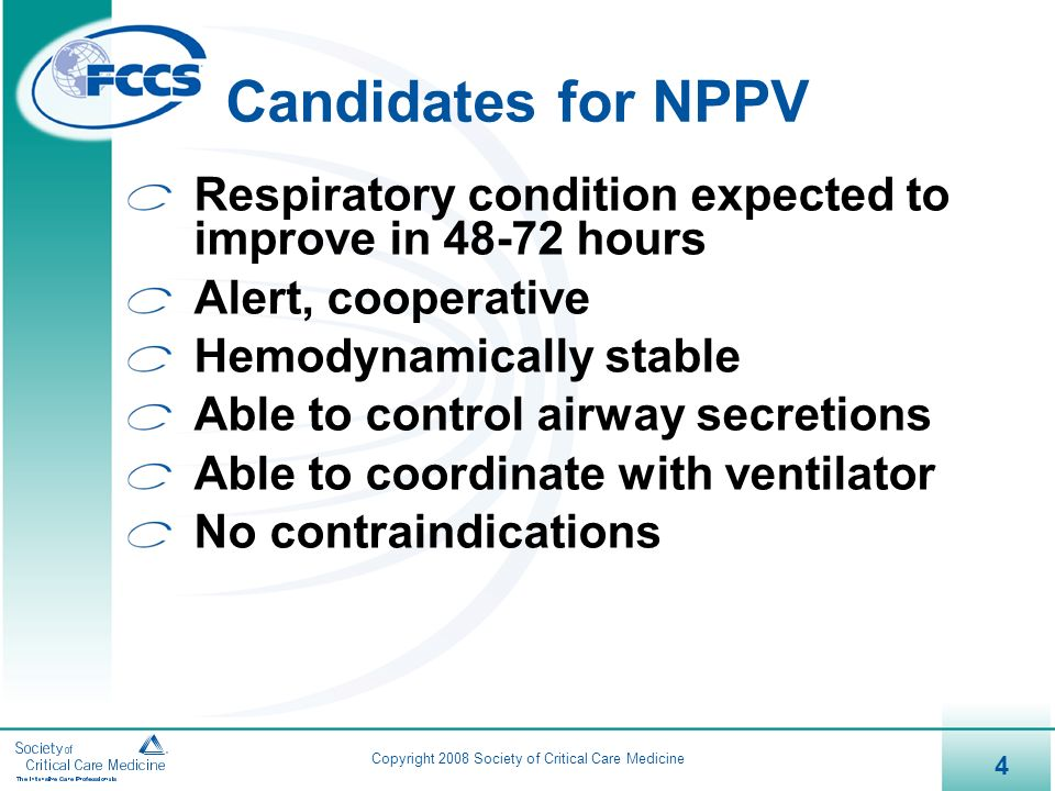 an analysis of the nasal nppv for the dyspenic patients Introduction: the efficacy of long-term noninvasive positive pressure ventilation (nppv) in stable hypercapnic copd patients with respiratory failure remains unclear the aim of this meta-analysis was to critically assess the efficacy of long-term nppv on mortality, acute exacerbation, exercise capacity, symptoms and significant physiological .
