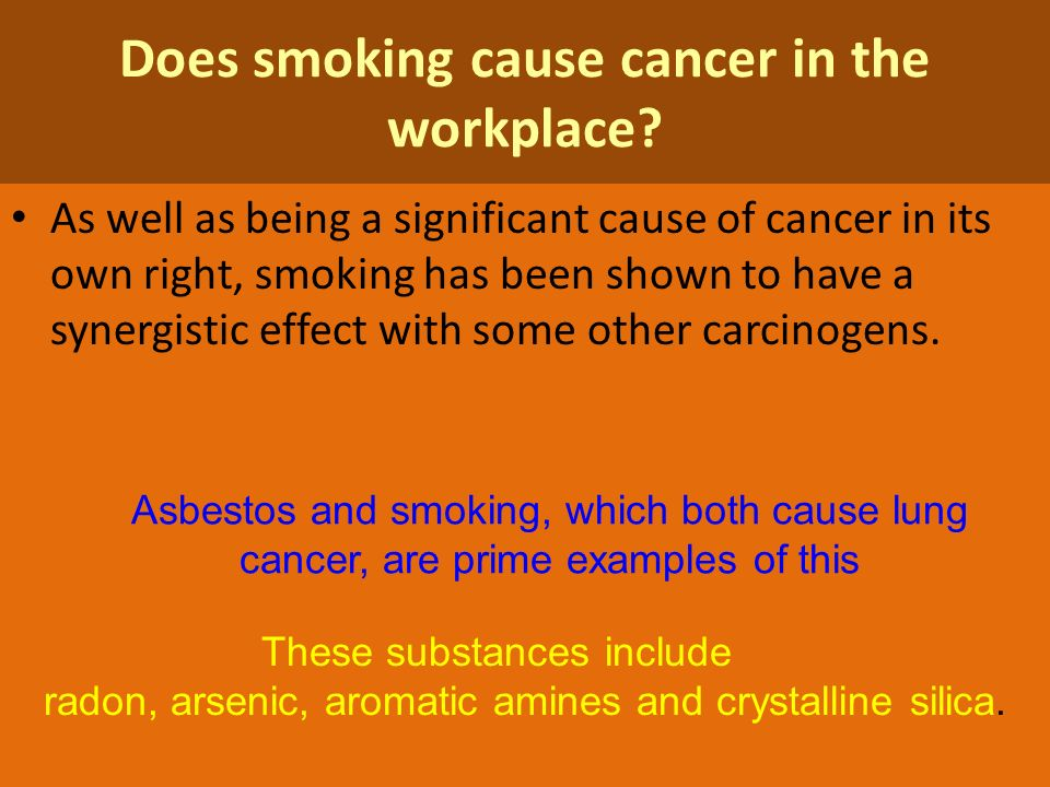 workplace carcinogens