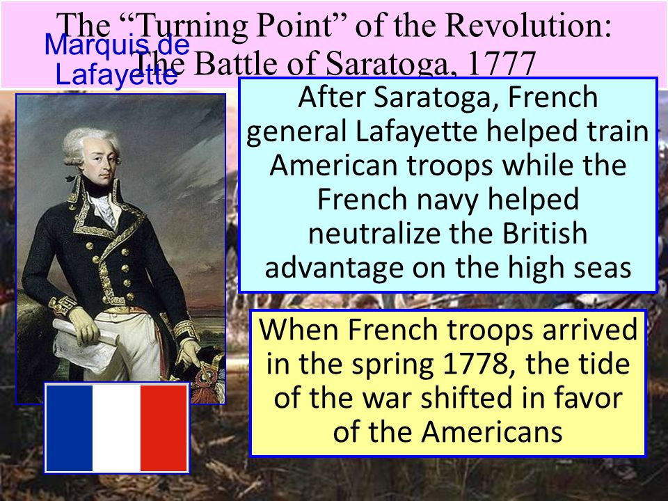 turning points of the french revolution Europe and the american revolutionary war learn about the revolutionary war with free printables britain's loss in the american revolution did little harm to its power.