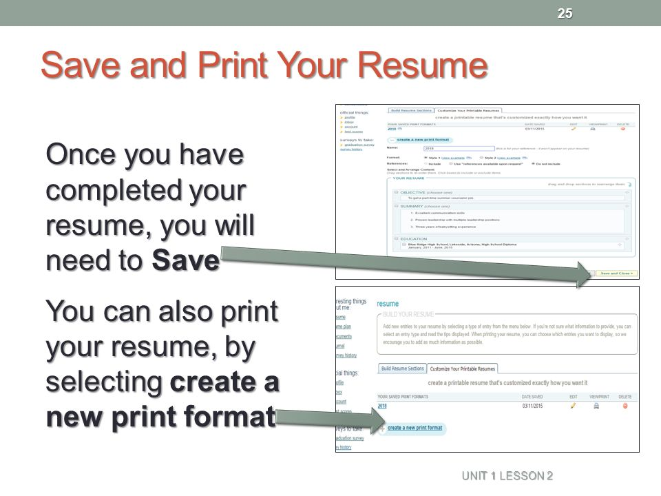 resume naviance family connection ppt