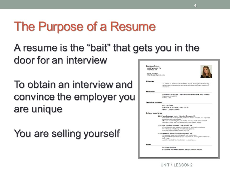 how to resume from naviance