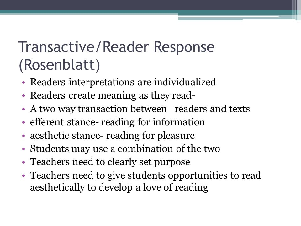 efferent and aesthetics ways of reading literary texts Presentation on how to teach literature by mat_ortiz.