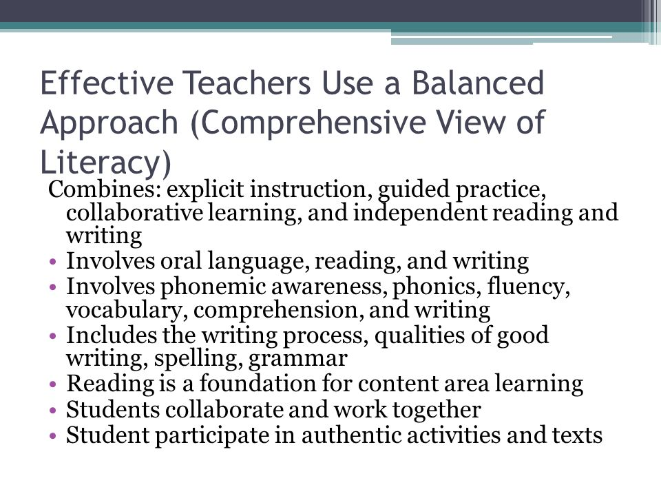 Teaching Collaborative Writing ~ Effective teachers of reading con t ppt video online