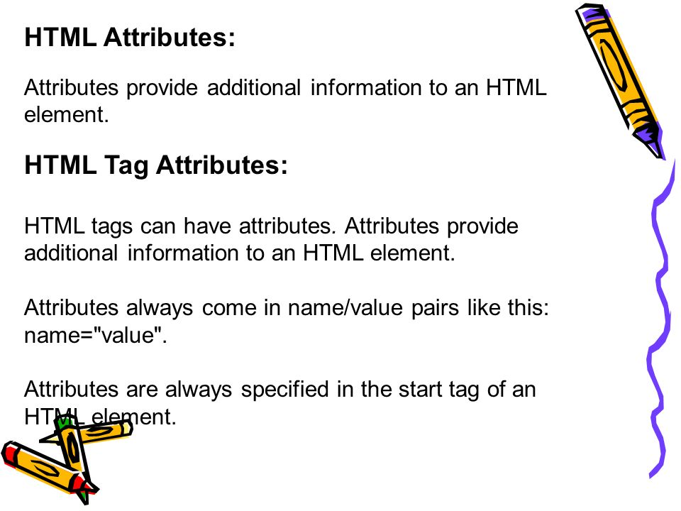 Html paragraph attributes phpsourcecode net for Table tag attributes in html