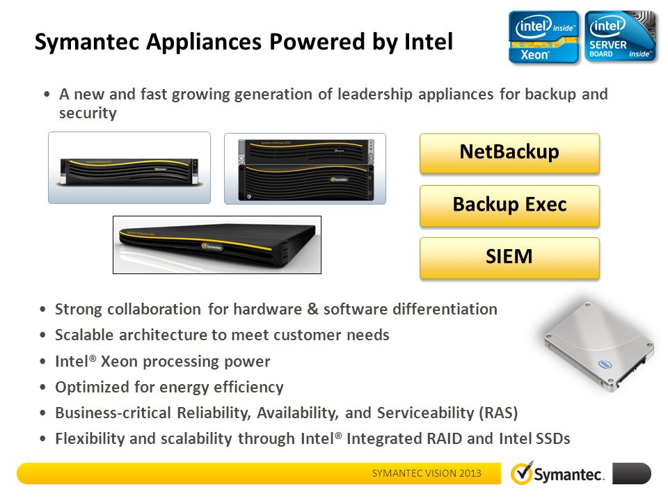 Whats new with netbackup appliances ppt download 10 symantec appliances malvernweather Choice Image