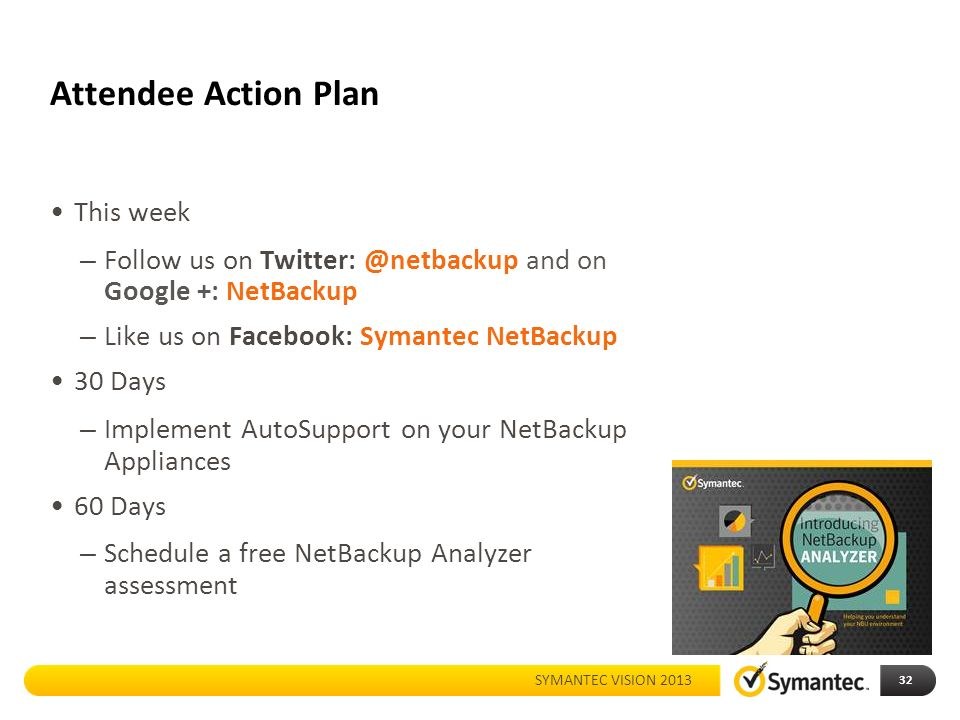 Whats new with netbackup appliances ppt download 32 attendee malvernweather Choice Image
