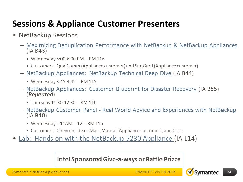 Whats new with netbackup appliances ppt download 33 sessions malvernweather Choice Image