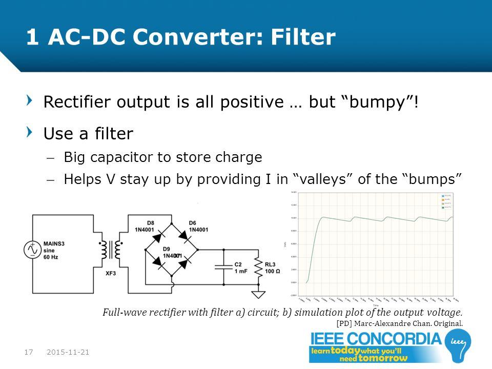 1 AC-DC Converter: Filter