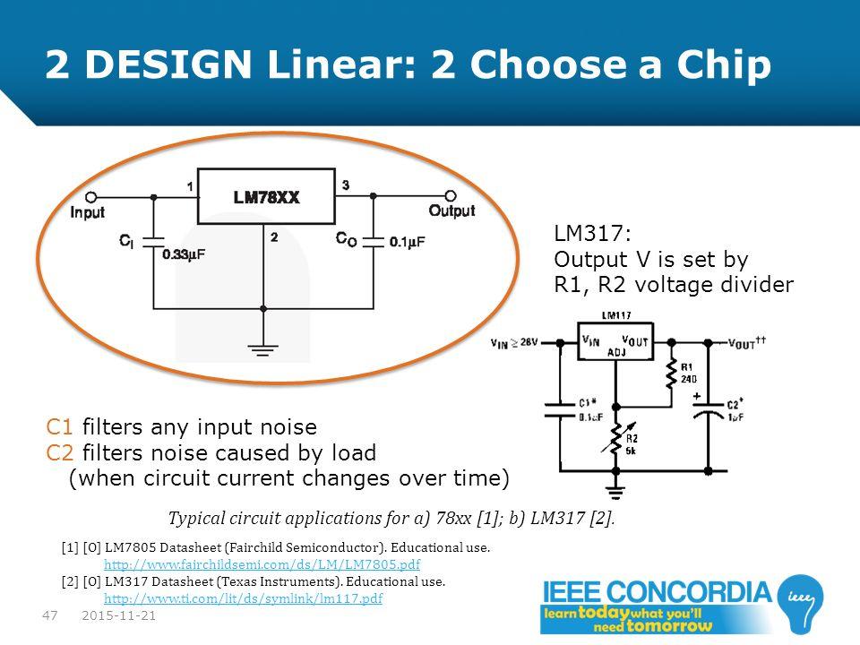 2 DESIGN Linear: 2 Choose a Chip