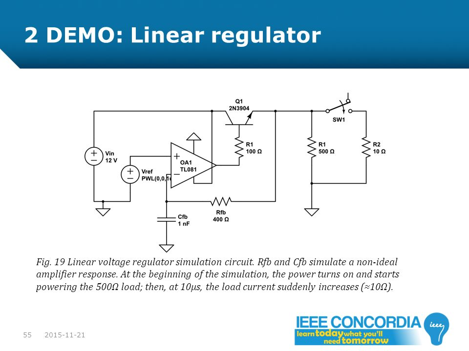 2 DEMO: Linear regulator