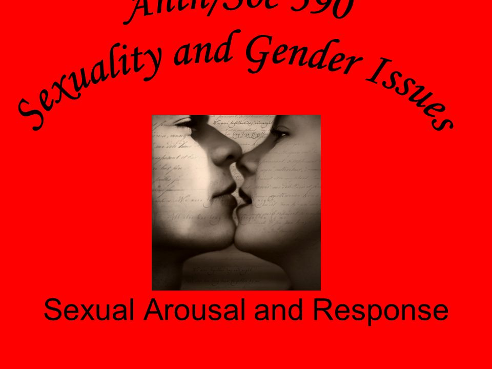 Sexual arousal video