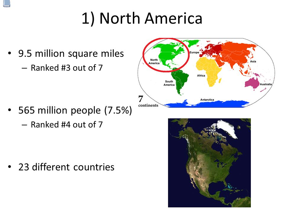 Continents The World Is Divided Into Major Continents Ppt - Major continents