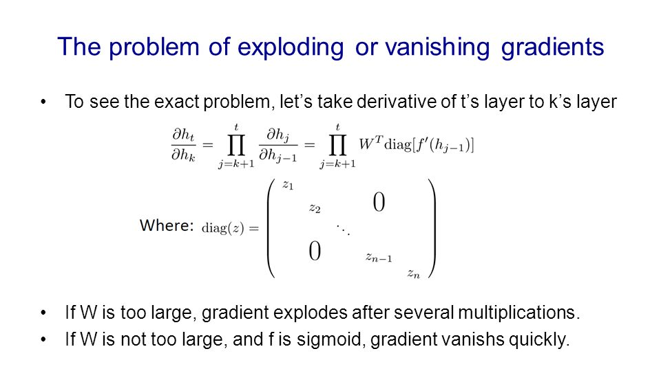 how to fix the vanishing gradient problem