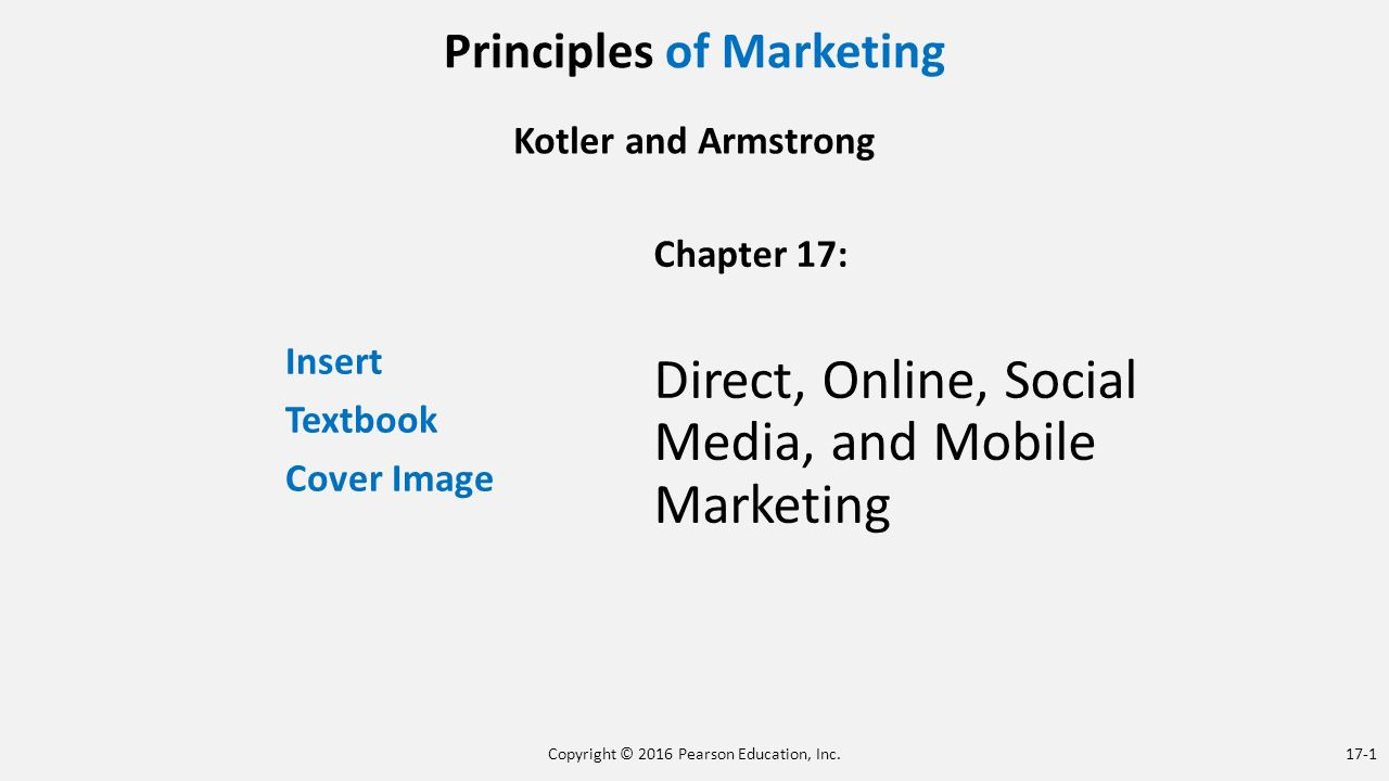 the principles of marketing Marketing is a critical factor in building a successful business there are five  principles of marketing that can take your business to the next level.