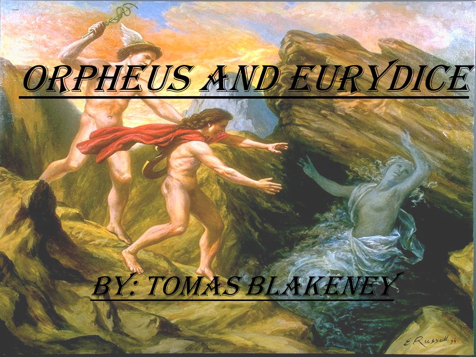 orpheus and eurydice Lyric presents gluck's orphée et eurydice in the paris version orpheus's wife, eurydice, has died and has been sent to the underworld.