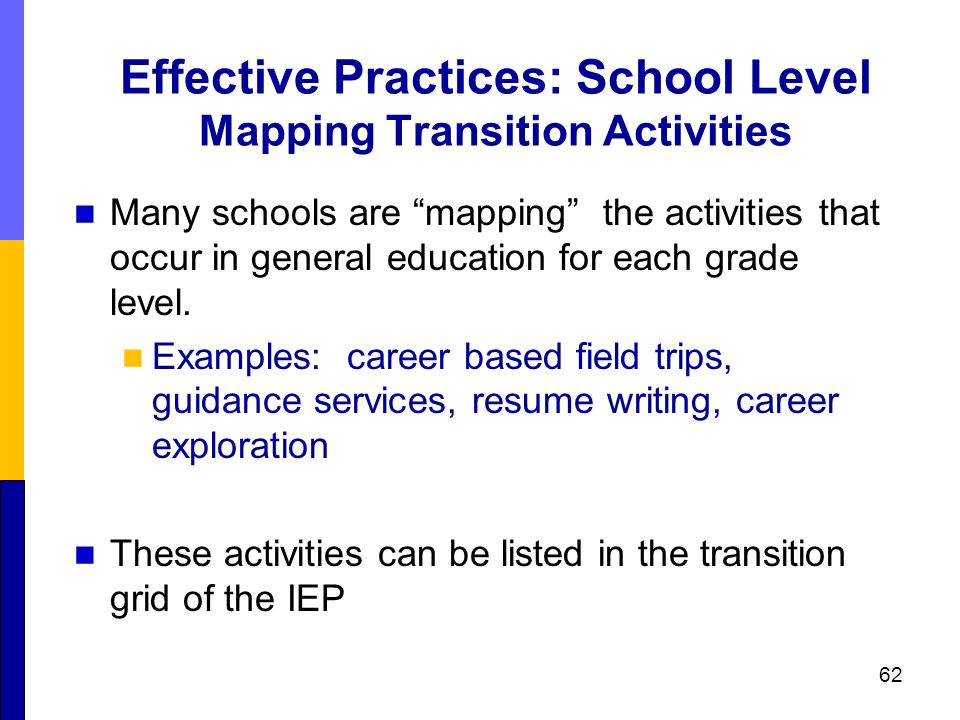 career education and work standards tools for transition