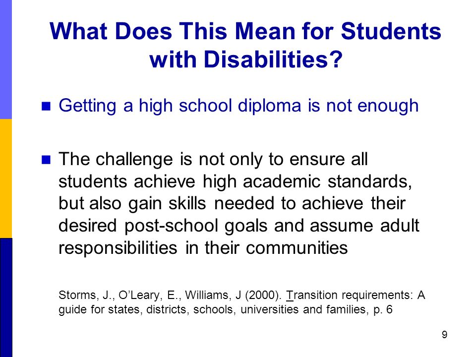 an analysis special education has fought to ensure students with disabilities Helpling the ld child with organization share  provide verbal prompts and cues to ensure the student is  games to support special education students.