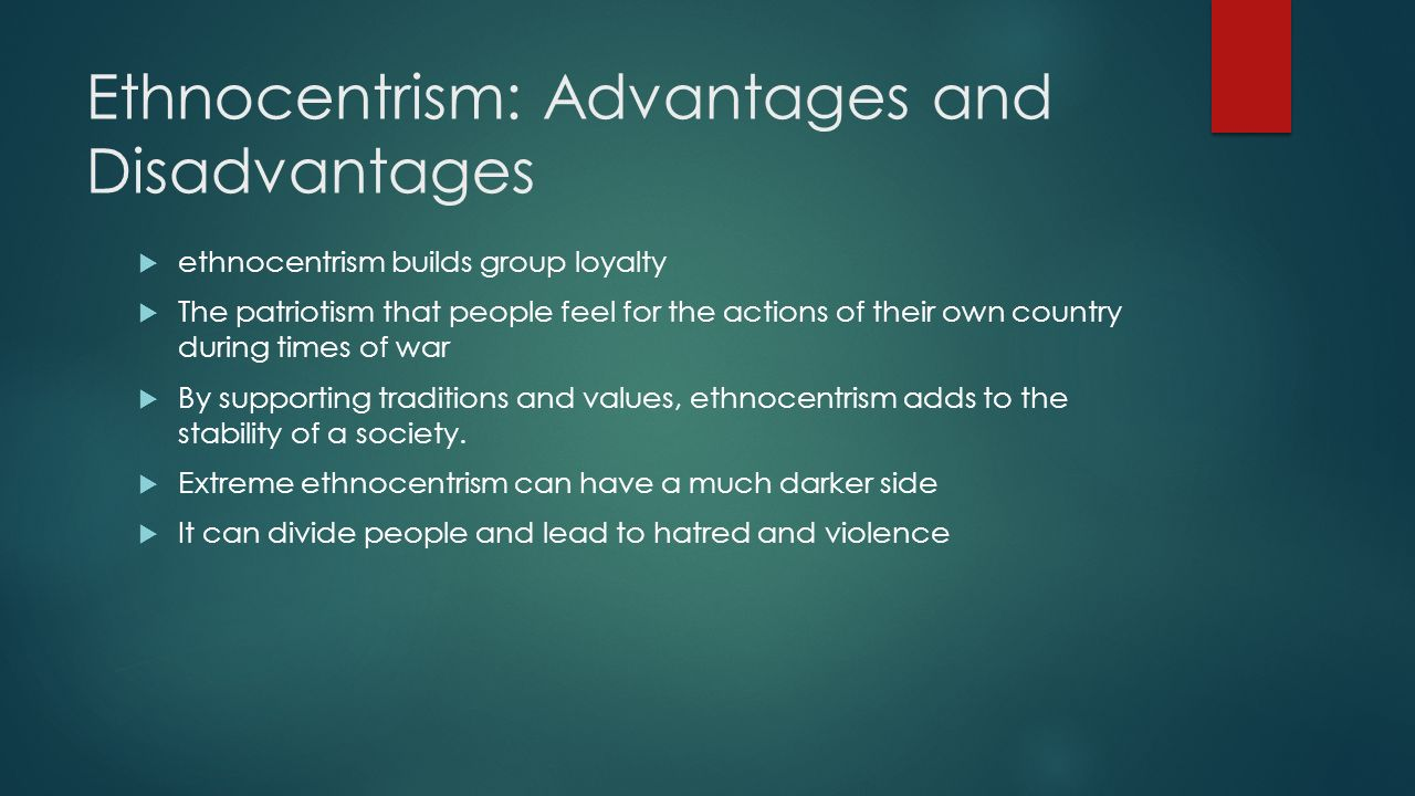 Ethnocentrism Meaning, Definition, Examples & Effect on Society