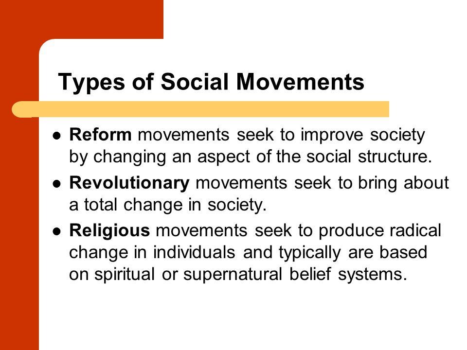 collective behavior  social movements  and social change