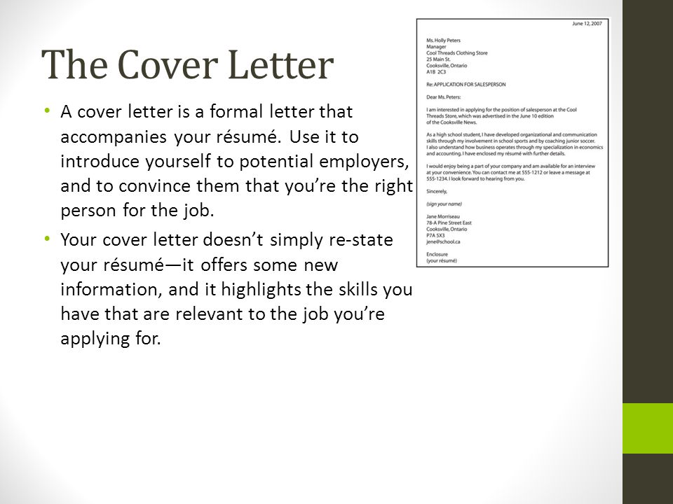 cover leter Simple cover letter make a great first impression with this accessible resume cover letter template look for the resume for a matched set.