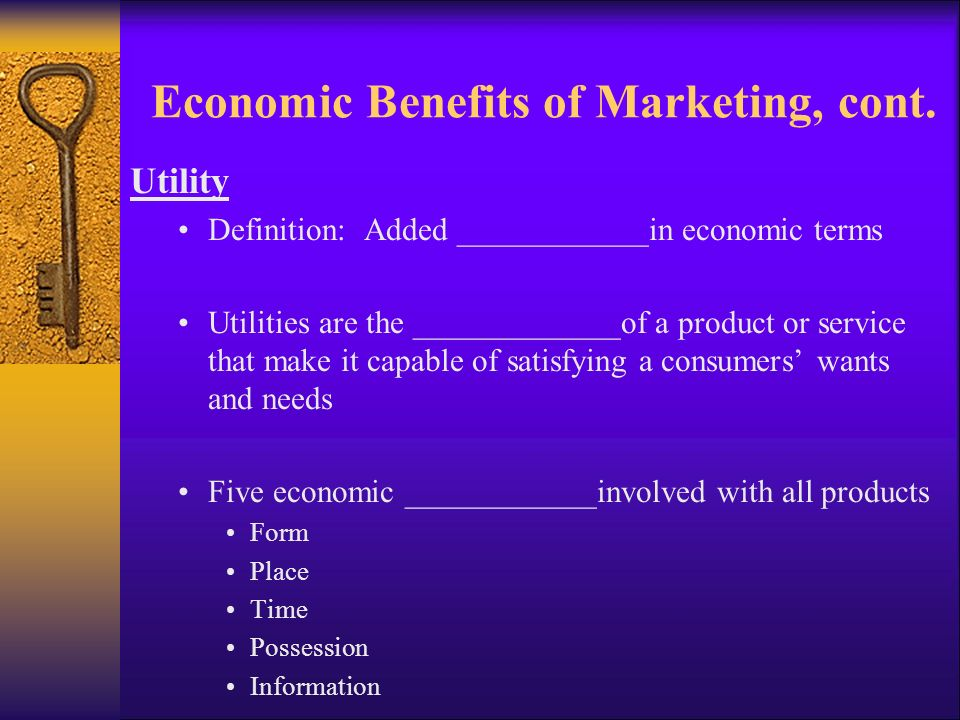 The Importance of Marketing - ppt download