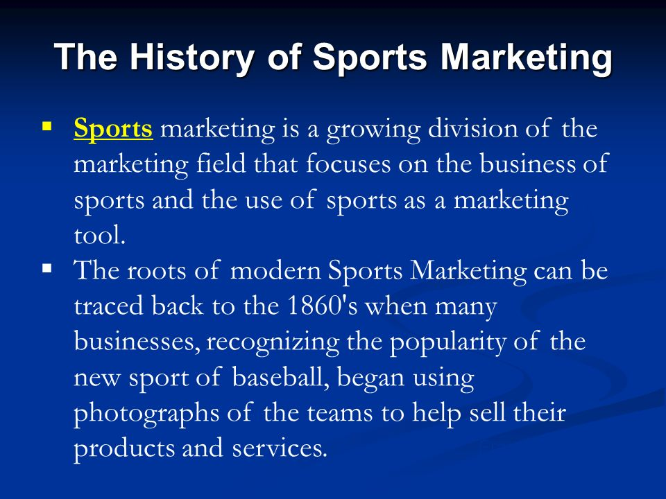 history of sports industry Read this south source article about the business of fitness.